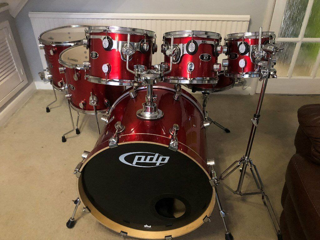 Pdp X7 By Dw 7 Piece Shell Pack Drum Kit Drums In Barry Vale Of