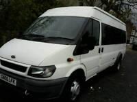 17 seater minibus bus for rent