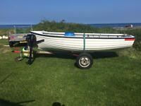 12f inver boat with trailer. Not Stomp pitbike mx bike crf