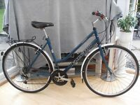 ADULT LADIES VERY NICE QUALITY FALCON ROUTIER HYBRID MOUNTAIN BIKE IN VGC.