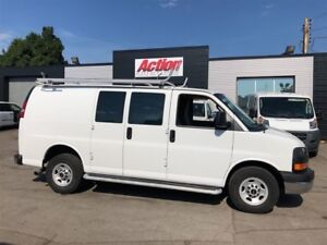 2016 GMC Savana 2500 SHELVING LADDER RACK INCLUDED