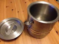 Ikea Stainless Steel Ice Bucket