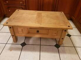 Coffee chest table