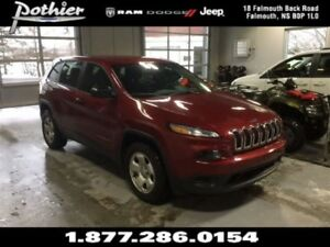 2014 Jeep Cherokee Sport 4x4 | EXTENDED WARRANTY | CLOTH | REMOT