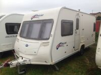 Bailey pageant bordeaux 4berth fixed bed 2009 full awning PX welcome