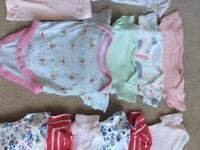 Newborn clothes bundle - 25 items