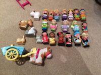 Large Happyland Bundle of toys