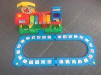 Vetch interactive train station track