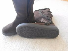Genuine 'Animal'Brown Boots