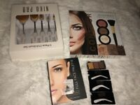 BRAND NEW Make up face palettes (contour and full face) PRO brushes and eyebrow stencils and shadows