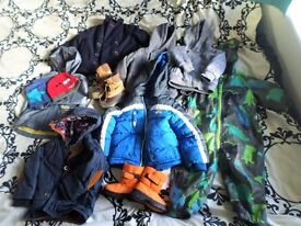 Winter Autumn Baby Boys Clothes 45 items Huge Bundle!