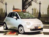 ★💰MONTH END DEALS💰2010 FIAT 500 1.2 LOUNGE★MOT MAY 18★£30 TAX★SERVICE HISTORY★WARRANTY★KWIKI AUTOS