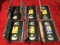 DVD's & VHS (26 various)