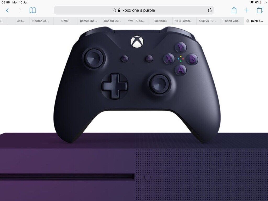 Brand new limited edition purple fortnite Xbox one wireless control pad  bargain £45 | in Long Eaton, Nottinghamshire | Gumtree