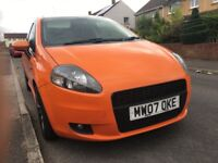 Modified Fiat Grande Punto Sporting 1.9 D