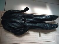 Ladies Hein Gericke Leather Motorcycle Jacket and Trousers