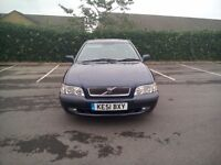 Volvo V40 Tdi 1.9 Full Mot Full Service History Timing Belt Kit Changed Superb Brilliant Drives