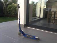 Micro Sprite 2 wheel Scooter - Aztec Blue