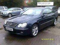 Mercedes-Benz CLK 3.0 CLK280 Avantgarde 7G-Tronic 2dr 2006 (56 REG) AUTOMATIC FULLY LOADED SAT NAV