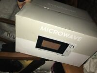Microwave brand new never been opened