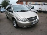 2003 GRAND VOYAGER CRD LIMITED EDITION ESTATE 2.5 DIESEL 7 SEATER 12 MONTH M.O.T.