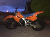 Kawasaki kdx 125cc 2stroker