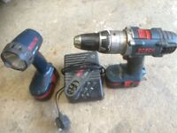 Bosh 18volt and torch