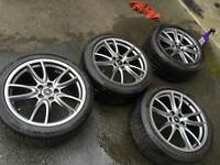 """19"""" OEM brembo mustang wheels and tires"""