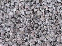 20mm silver/pink granite stone