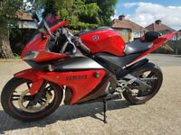 yamaha r125 not cbr pcx or rs125