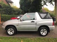 2004 Suzuki Grand Vitara soft tip convertible, low mileage, near mint condition, family owned