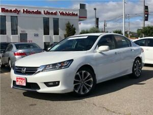 2014 Honda Accord Sedan Sport - Lip Spoiler - Heated Seats - Rea