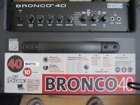 Fender Bronco 40 watt bass combo