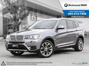 2017 BMW X3 xDrive28i Local One Owner! Clean Carproof!
