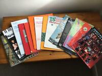 14 flute and clarinet music books