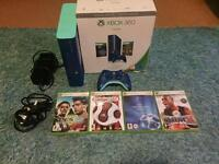 Limited edition Blue Xbox 360