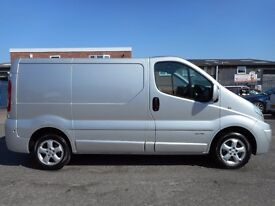 FINANCE ME!! NO VAT!! Renault Trafic Swb sport, Sat Nav, Air conditioning, Reversing Sensors, Alloys