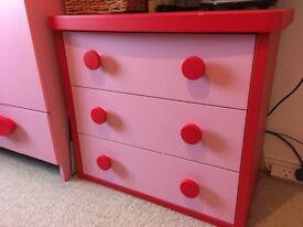 IKEA Mammut wardrobe and drawers