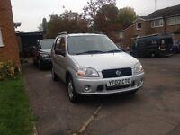 Suzuki Ignis, 5 door, Automatic, Lady driven from Nov 2012, 2002, £1200