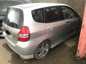 Honda jazz 1.4 sport auto engine box breaking