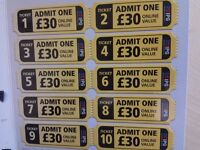 IPG Paintball Tickets (10) + 10 more free