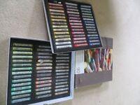 Artists Rembrandt soft pastel landscape selection, Box of 90