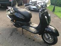59 TAMORETTI RETRO MOPED 125 LEARNER LEGAL SIMILAR TO VESPA PIAGGIO APRILIA