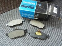 New Set of Front Brake Pads for a Ford Cougar/Mondeo/Scorpio (BW577)