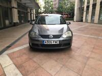 VW GOLF 2005 AUTOMATIC 1.6 PETRAL MILEGE 159K