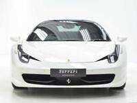 Ferrari 458 ITALIA DCT (white) 2014-09-05