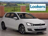 Volkswagen Golf SE TDI BLUEMOTION TECHNOLOGY (white) 2014-06-23