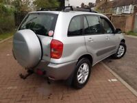 2002 Toyota RAV4 2.0 D-4D GX 5dr Manual @07445775115@