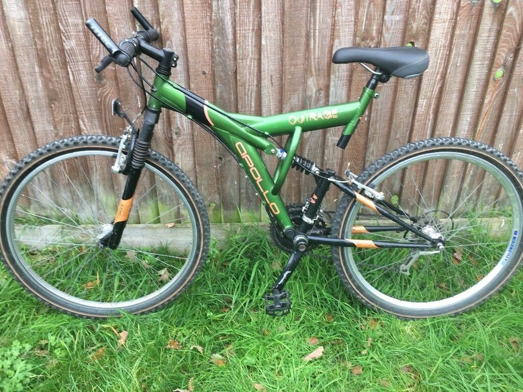 Apollo Outrage Full Suspension Adults Mountain Bike - Excellent Condition