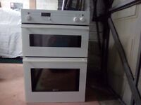Neff Double Oven White - under counter built in